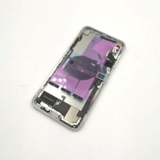iPhone X Backcover Gehäuse Rahmen mit Tasten Vormontiert Schwarz