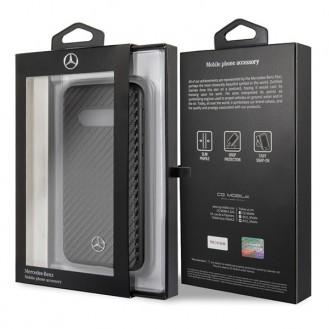Mercedes Benz - Dynamic - Samsung Galaxy S10 Carbon Cover Case