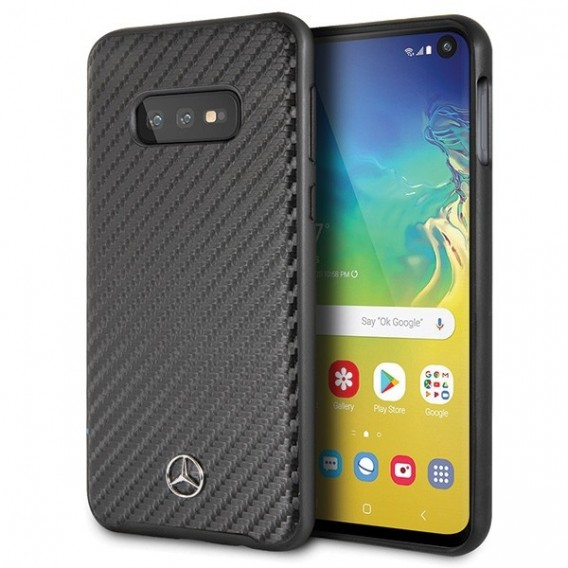 Mercedes Benz - Dynamic - Samsung Galaxy S10 Carbon Cover Case