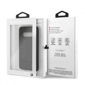 BMW - Logo Imprint - Samsung Galaxy S10 - Leder Hard Cover Case