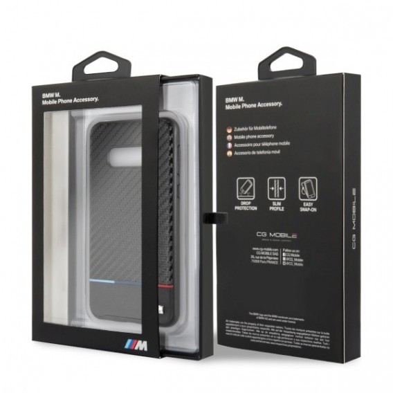 BMW - Carbon - Samsung Galaxy S10e - TPU Case Cover Handyhülle