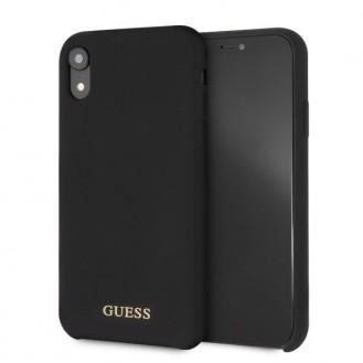 Guess - Silikon Impact - Case - Apple iPhone Xr - Schwarz Cover Hülle Schale Schutzhülle
