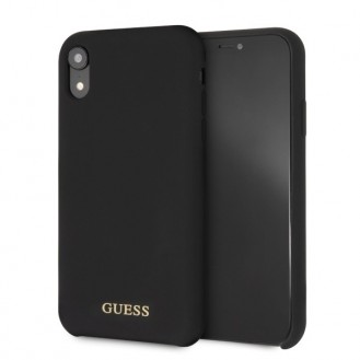 Guess - Silikon Impact - Case - Apple iPhone Xr - Schwarz Cover