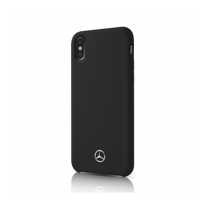 Mercedes Benz - Silikon - Apple iPhone XS Max - Handyhülle Schutzhülle Hard Case