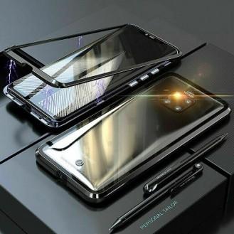 360° Magnet Cover Handy Schutz Case Tasche Huawei Mate 20 Pro