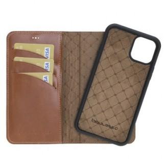 More about Bouletta Echt Leder Magic Wallet iPhone 11 Braun