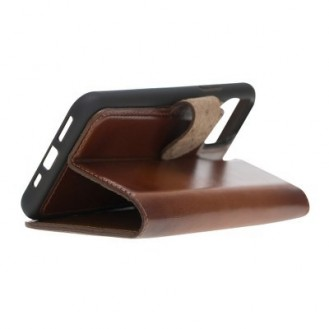 Bouletta Echt Leder Magic Wallet iPhone 11 Braun