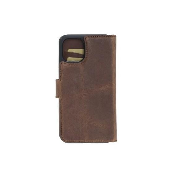Bouletta Echt Leder Magic Wallet iPhone 11 Pro Antik Braun