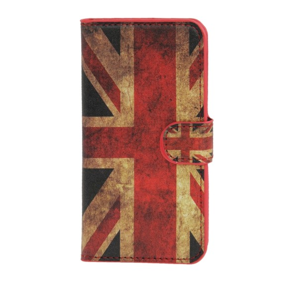 England UK Flagge Leder Kreditkarte HTC One Mini M4