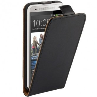 More about Schwarz Flip Leder HTC One Mini M4