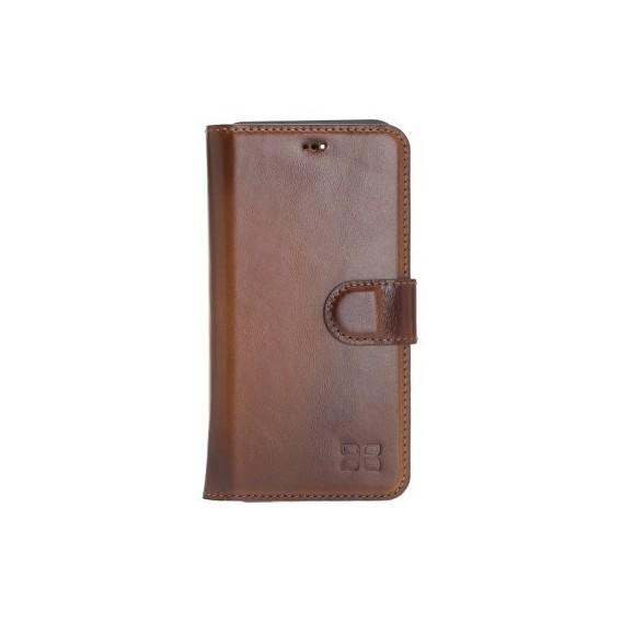 Bouletta Echt Leder Magic Wallet iPhone 11 Pro Max Braun