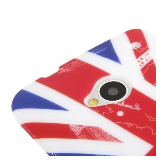 England Silikon TPU Hülle HTC One M7