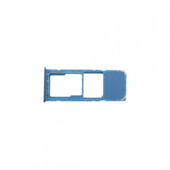 Sim Tray kompatibel mit Samsung Galaxy A70 Blau