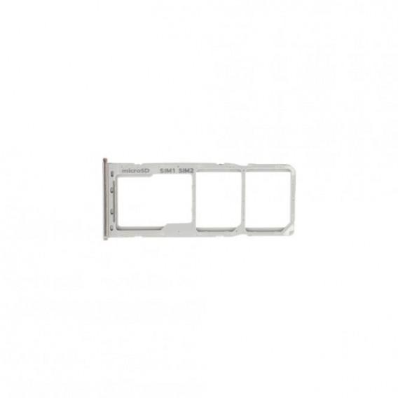 Sim Tray kompatibel mit Samsung Galaxy A70 Weiss