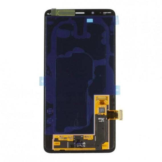 Samsung Galaxy A8 Plus 2018 LCD Display Schwarz