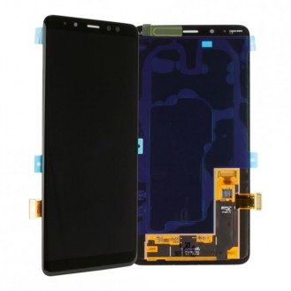 Samsung Galaxy A8 Plus 2018 LCD Display Schwarz