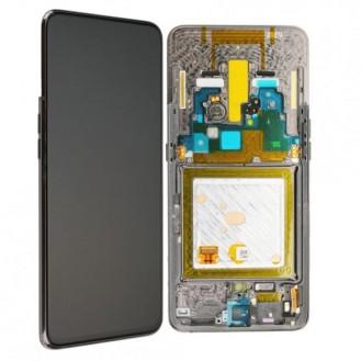 Samsung Galaxy A80 LCD Display, Silber
