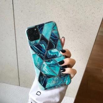 Geometrischer Marmor Phone Case für iPhone 11