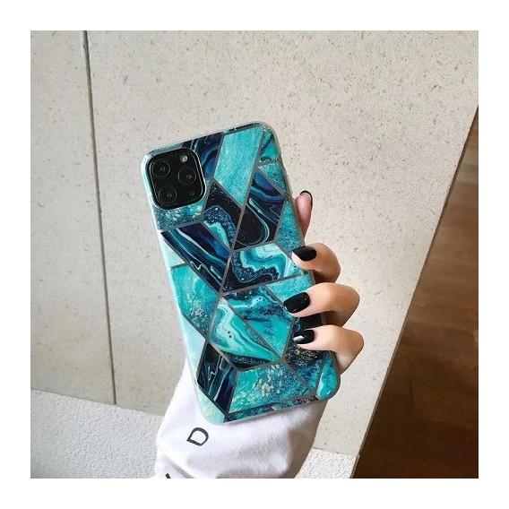 Geometrischer Marmor Phone Case für iPhone 11 Pro