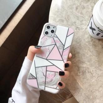 Geometrischer Marmor Phone Case für iPhone 11 Pro Max