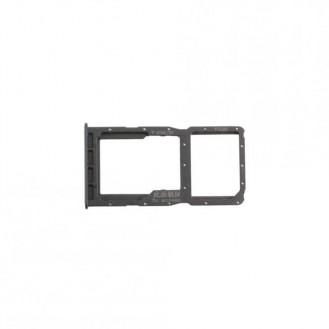 Sim Tray kompatibel mit Huawei P30 lite (Dual Sim), Schwarz