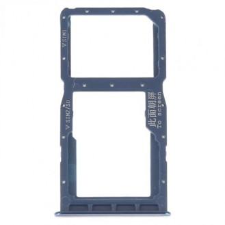 Sim Tray kompatibel mit Huawei P30 lite (Dual Sim), Blau