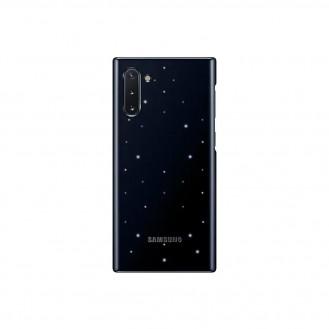 Samsung Note 10 Plus LED View Cover Original Case Hülle Schwarz