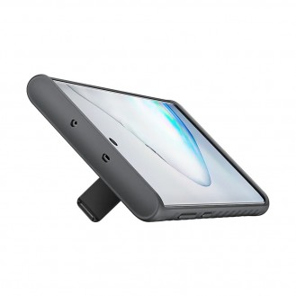 Samsung Note 10 Protective Standing Cover Hülle Schwarz