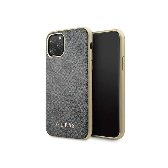 iPhone 11 Pro Guess Charms 4G Schutzhülle Case Hard cover Grau