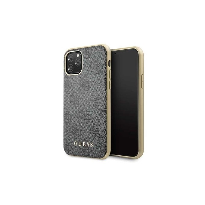 iPhone 11 Pro Guess Charms 4G Schutzhülle Case Hard cover Grau