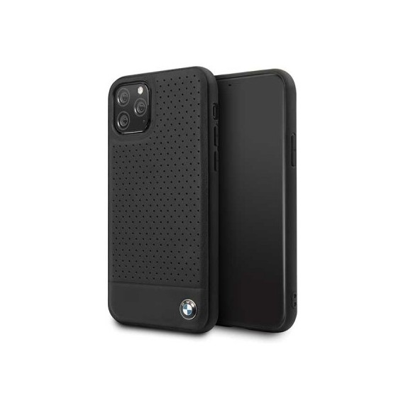 iPhone 11 Pro Max BMW Perforated Leder TPU Cover Case