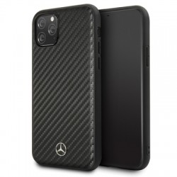 iPhone 11 Pro Max Mercedes Benz Dynamic Carbon Case Hard Cover Schwarz