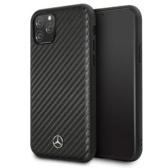 iPhone 11 Pro Mercedes Benz Dynamic Carbon Case Hard Cover Schwarz