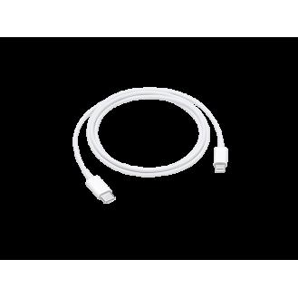 APPLE USB C auf Lightning Daten Ladekabel Weiss für iPhone 11 , Pro, Pro Max