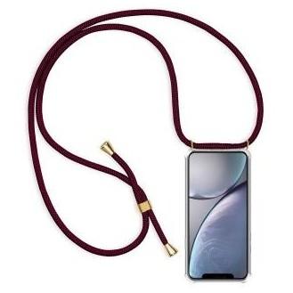 More about PT line TPU Schutzhülle mit Umhängeband für iPhone XS Max, Transparent / Lila