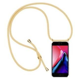 More about PT line TPU Schutzhülle mit Umhängeband für iPhone 7 Plus/ 8 Plus ,Transparent / Aprikose