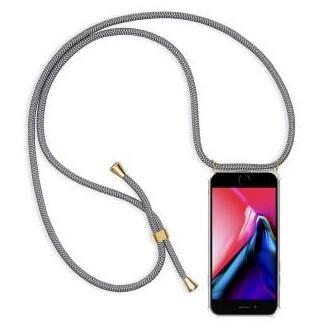 More about PT line TPU Schutzhülle mit Umhängeband für iPhone 7 Plus/ 8 Plus ,Transparent / Grau