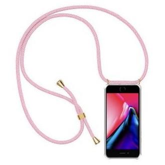 More about PT line TPU Schutzhülle mit Umhängeband für iPhone 7 Plus/ 8 Plus ,Transparent / Pink