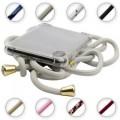 PT line TPU Schutzhülle mit Umhängeband für iPhone 11 Pro, Transparent / Grau