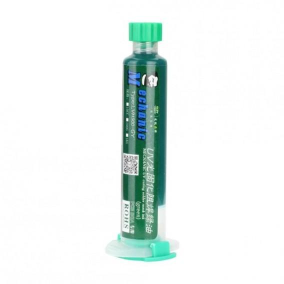 UV Kleber LVH900-GY, für PCB Platten 10ml Röhrchen, Grün