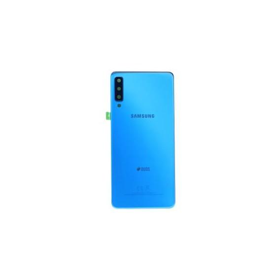Original Akku Deckiel Backcover für Samsung Galaxy A7 (2018) in Blau