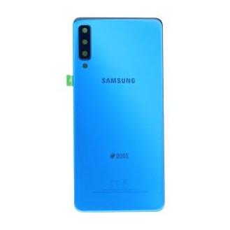 Original Akku Deckel Backcover für Samsung Galaxy A7 (2018) in Blau