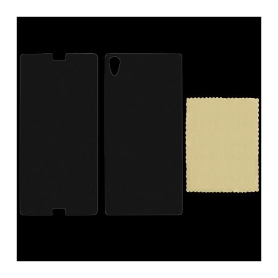 Front und Rück Schützfolie Xperia Z3