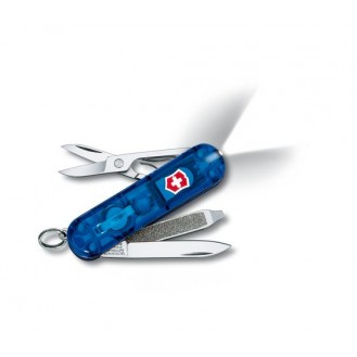Victorinox Swiss Lite Blau Transparent