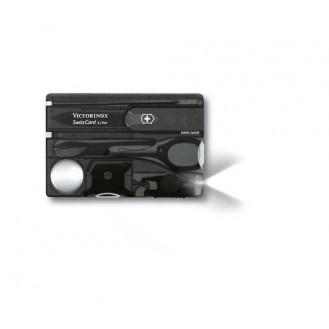 Victorinox SwissCard Lite Schwarz Transparent