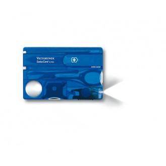 Victorinox SwissCard Lite Blau Transparent
