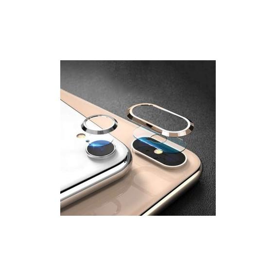 Tempered Kameraschutzglas für iPhone XS Max, Silber