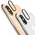Tempered Kameraschutzglas für iPhone XS Max, Schwarz