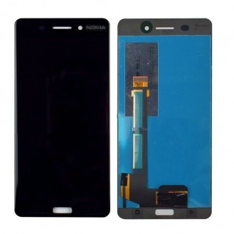 Nokia 6 Original LCD Display Schwarz