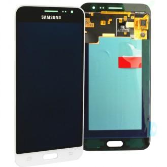 Original Samsung Galaxy J3 2016 J320F Weiss LCD NEU